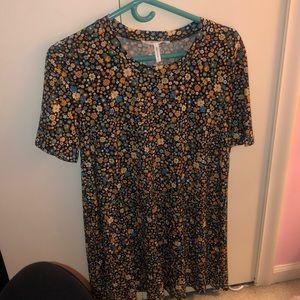 Floral T-shirt dress